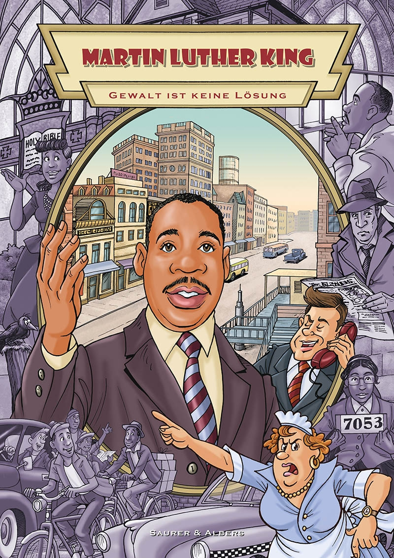 "Comic ""Martin Luther King"""