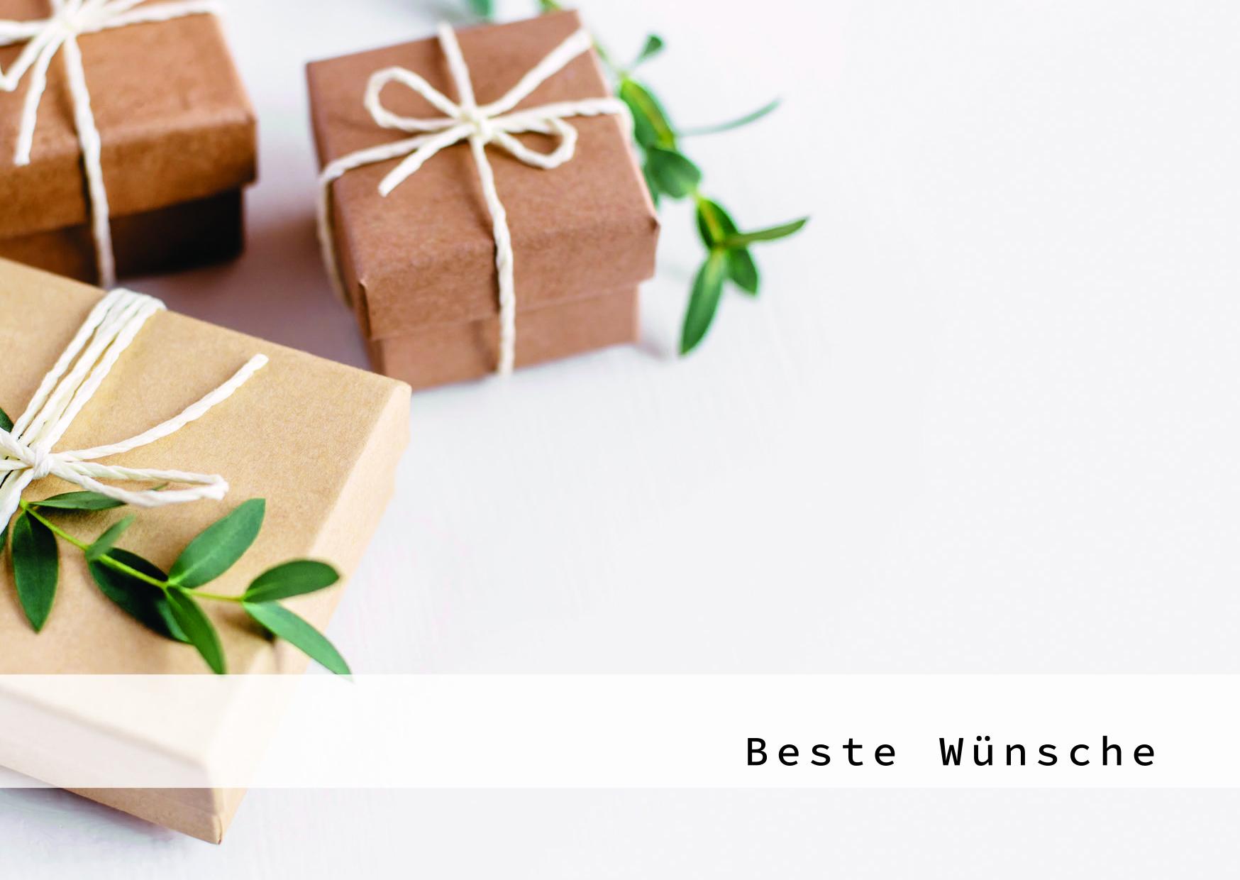 Augenblicke der Besinnung - Grußkarte Geschenk