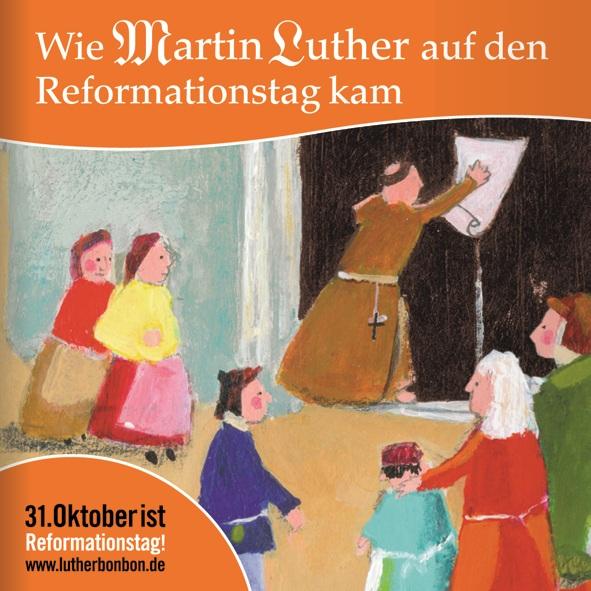 """Minibuch """"Wie Martin Luther auf den Reformationstag kam"""""""