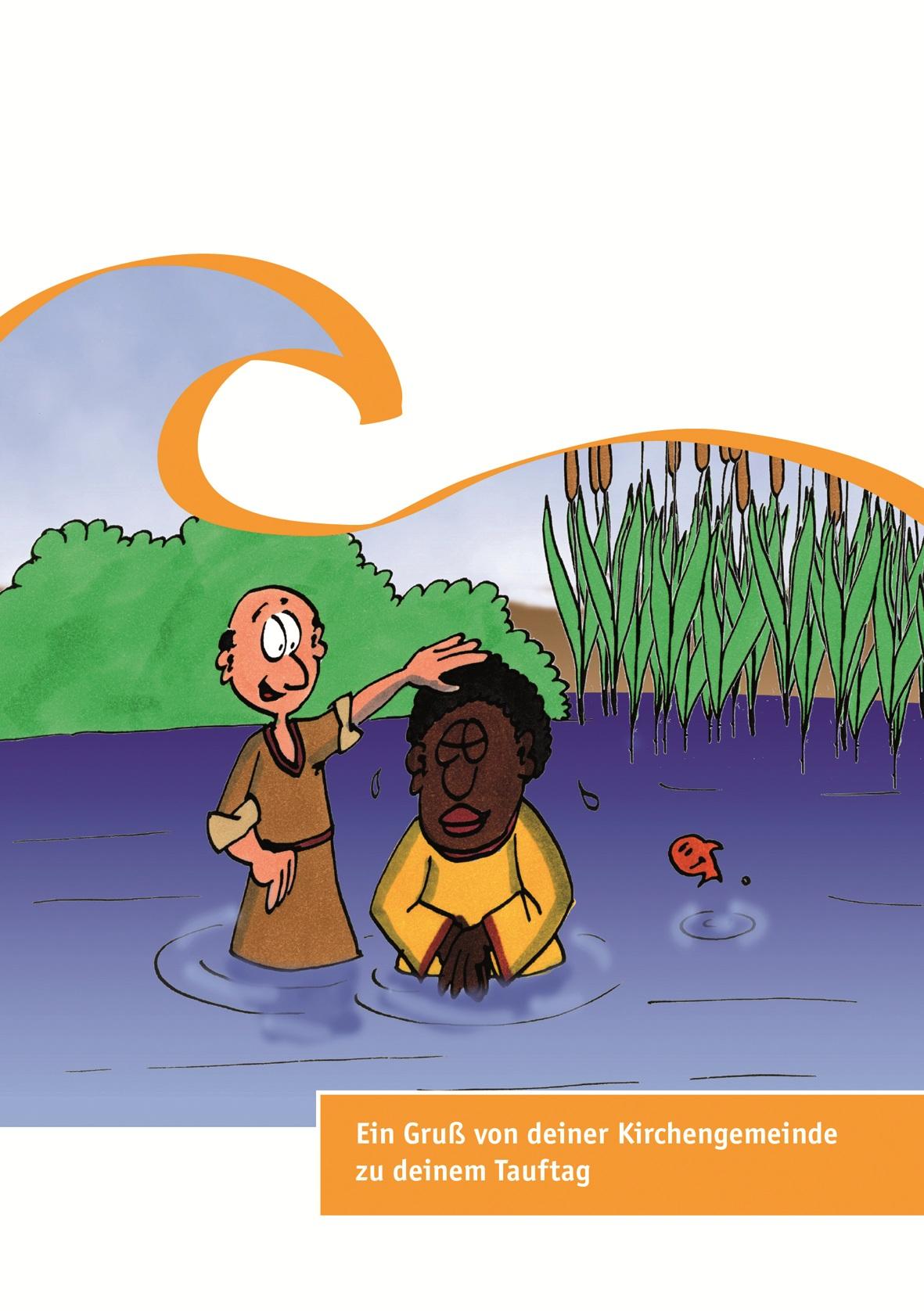 Neutrale Karten zum Tauftag für 7- bis 8-jährige