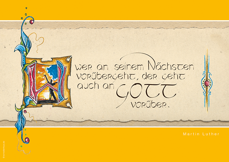 Poster Lutherzitate – Nächster