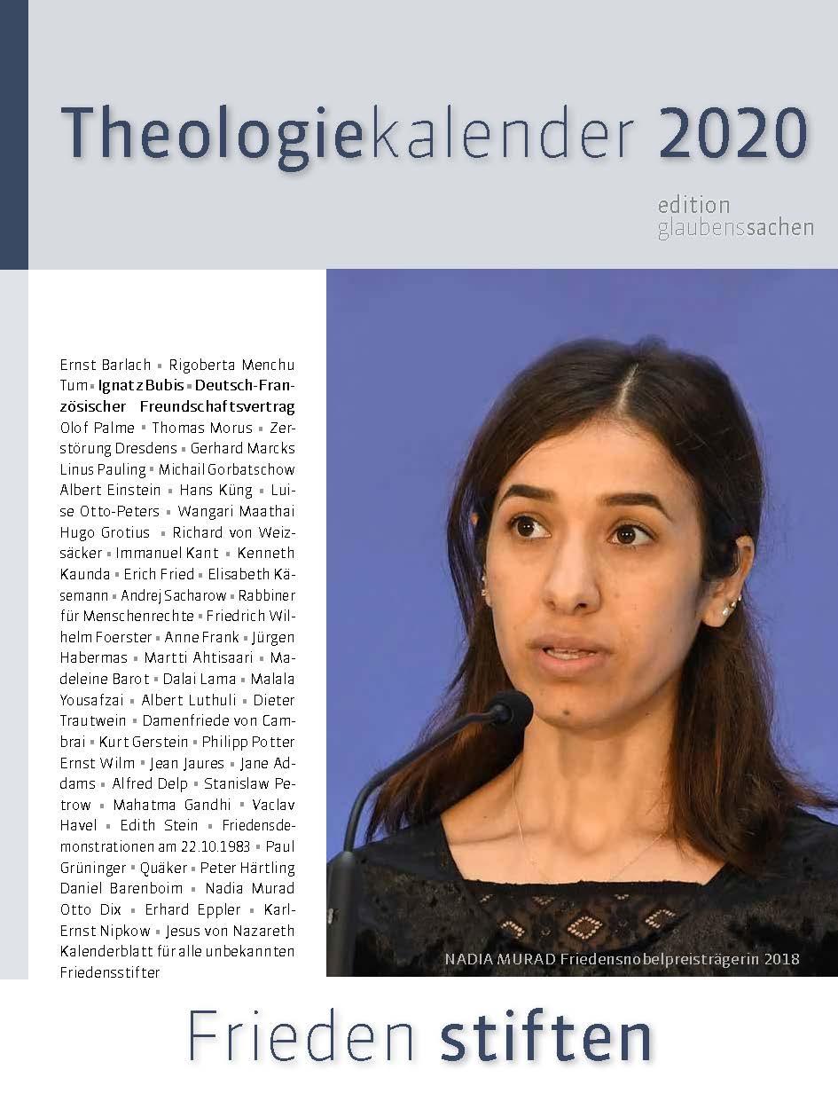 Theologiekalender 2020