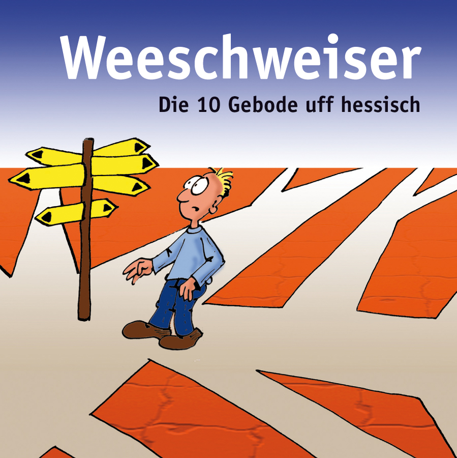 """Minibuch 10 Gebote """"Weeschweiser"""""""