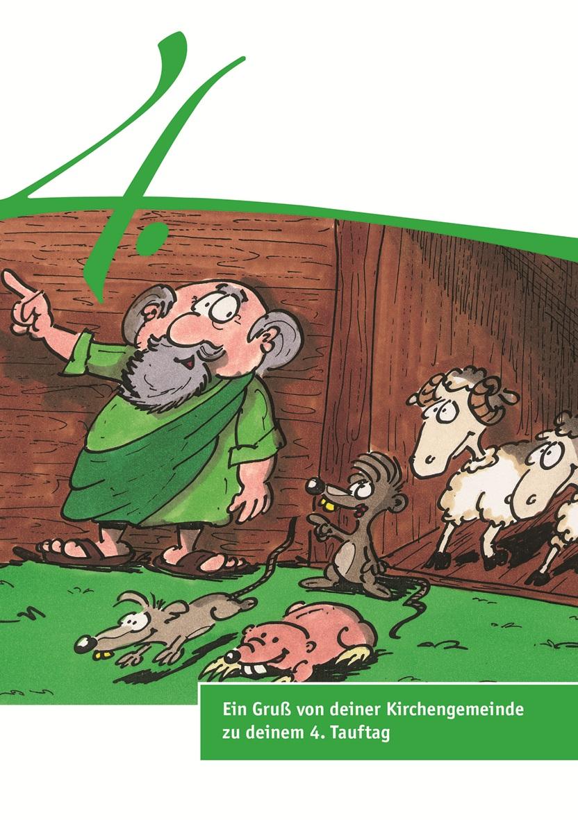 Karten zum Tauftag – 4. Tauftag