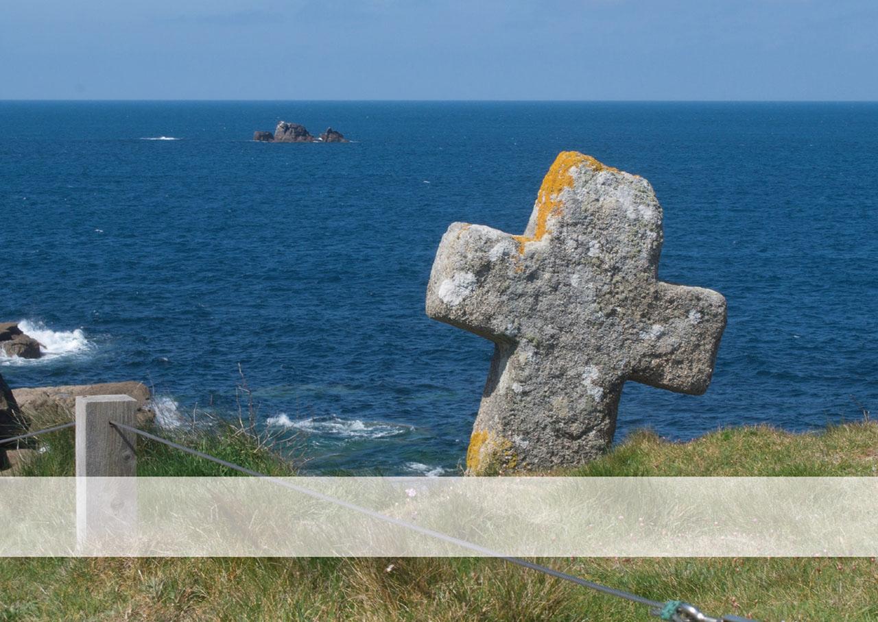Postkarte Augenblicke der Besinnung - Grußkarte Meer