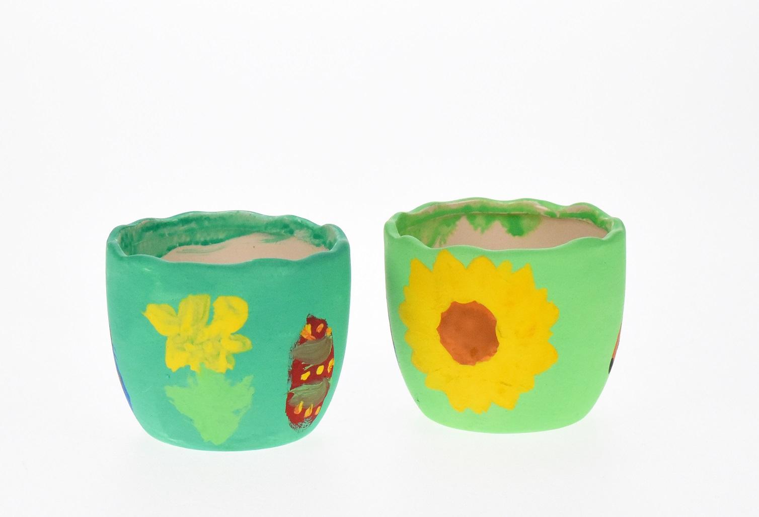 Terrakotta-Töpfchen