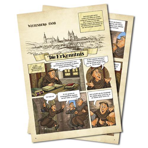 """Comic """"Martin Luther  - Ein Mönch verändert die Welt"""""""