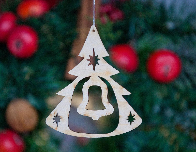 Weihnachtsbaumanhänger Glocke