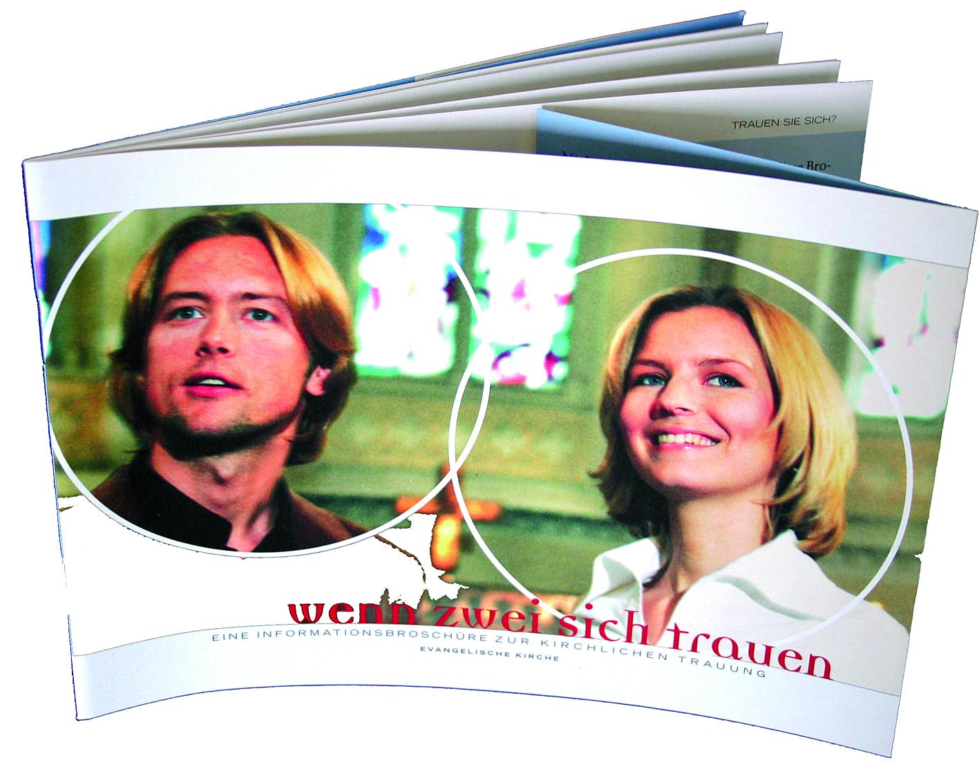 """Broschüre """"Wenn zwei sich trauen"""""""