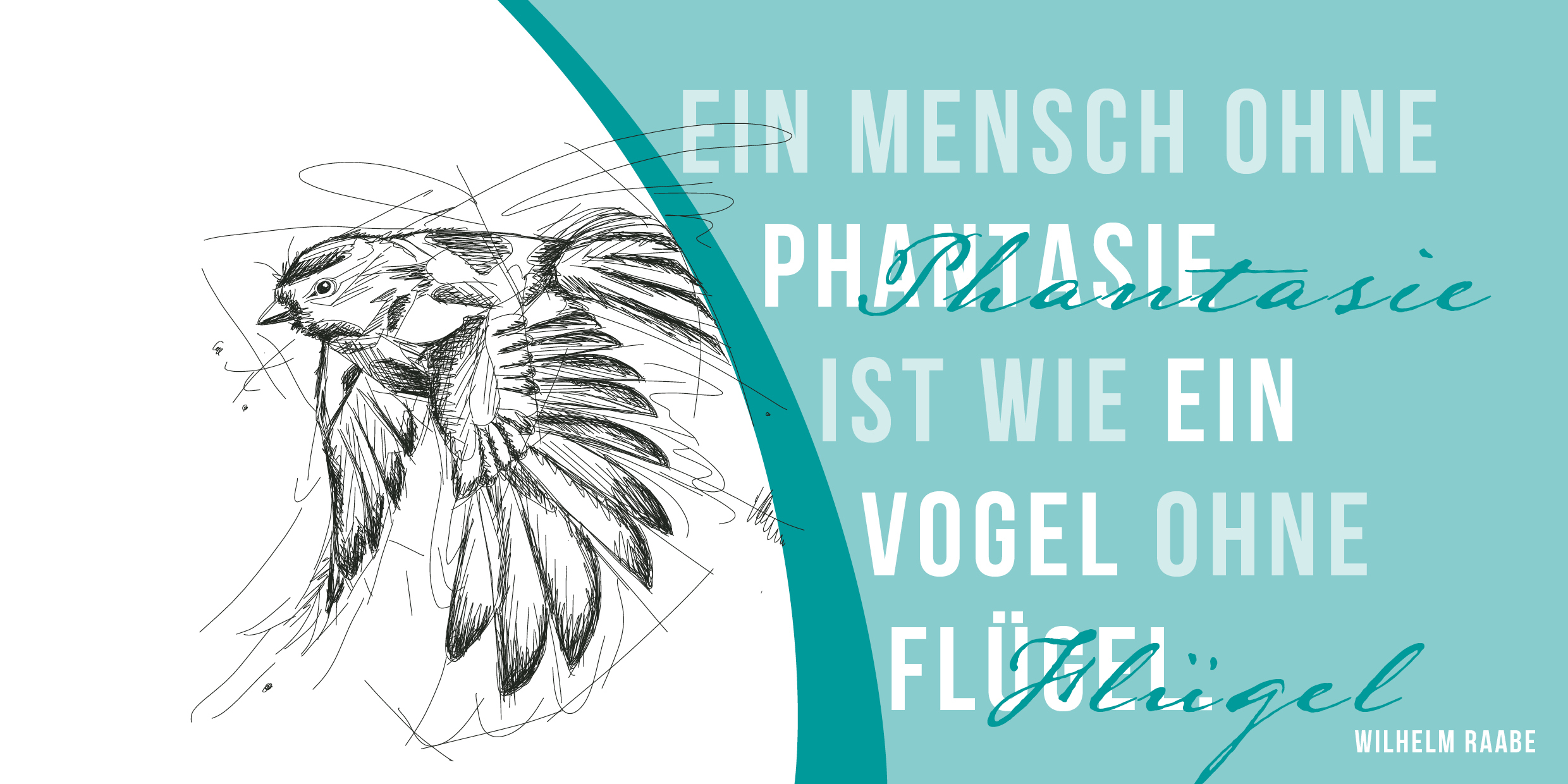 "Design-Karte ""Vogel"""
