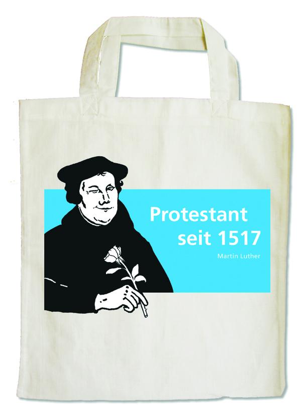 Baumwolltasche Luther