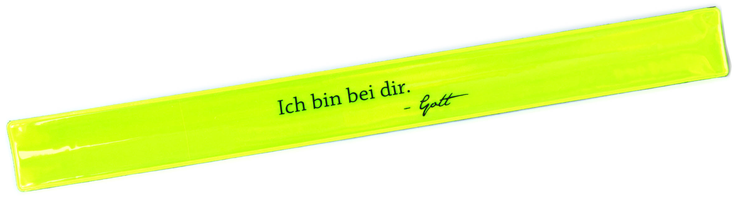 Klick-Armband gelb
