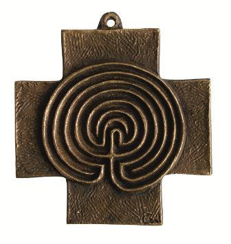Labyrinth-Kreuz