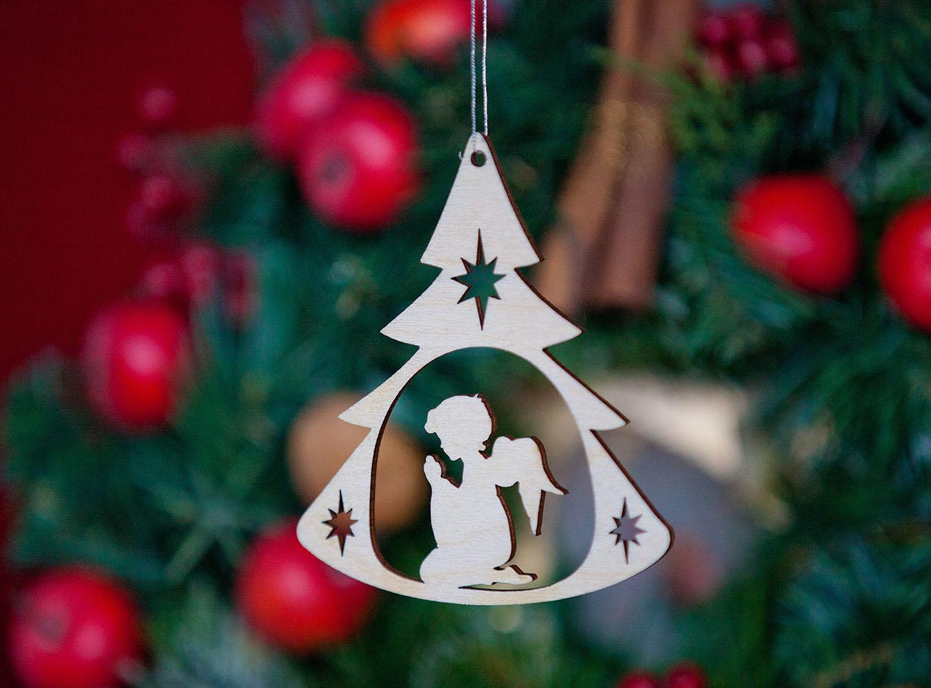 Weihnachtsbaumanhänger Engel