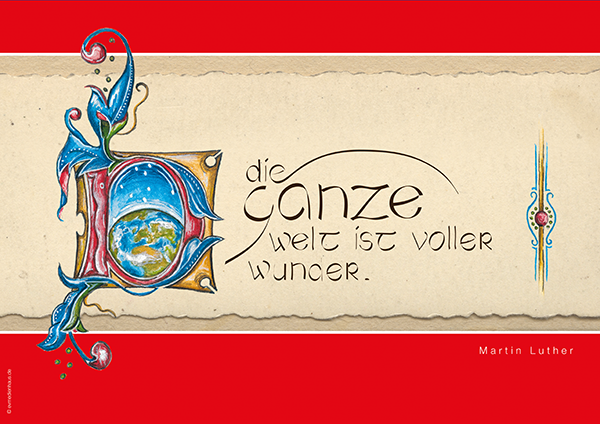 Poster Lutherzitate – Wunder