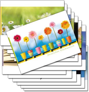 Postkarten Augenblicke der Besinnung – Kennenlern-Pack