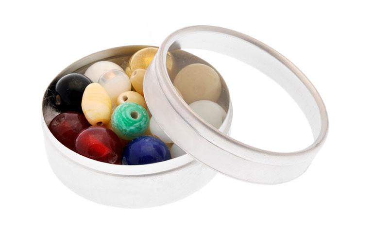 Perlen des Glaubens (10er Bausatz Glas)