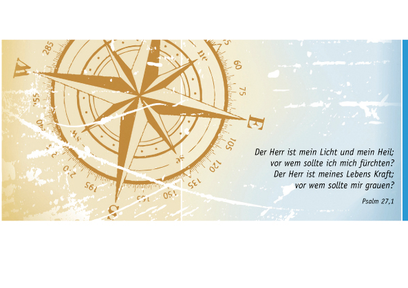 Postkarte Augenblicke der Besinnung – Gruß Floß