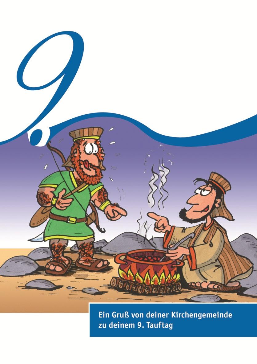 Karten zum Tauftag – 9. Tauftag