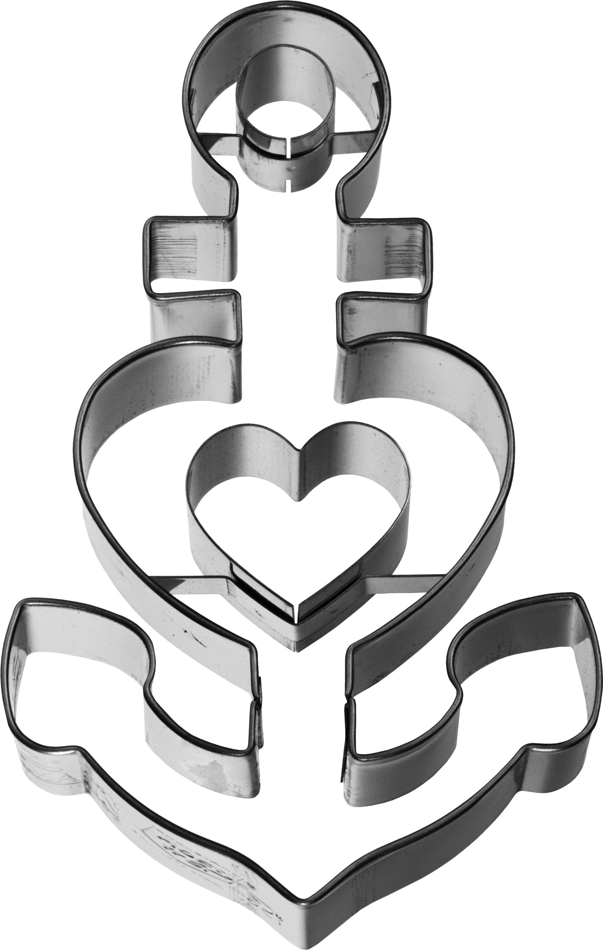 Ausstechform Glaube Liebe Hoffnung