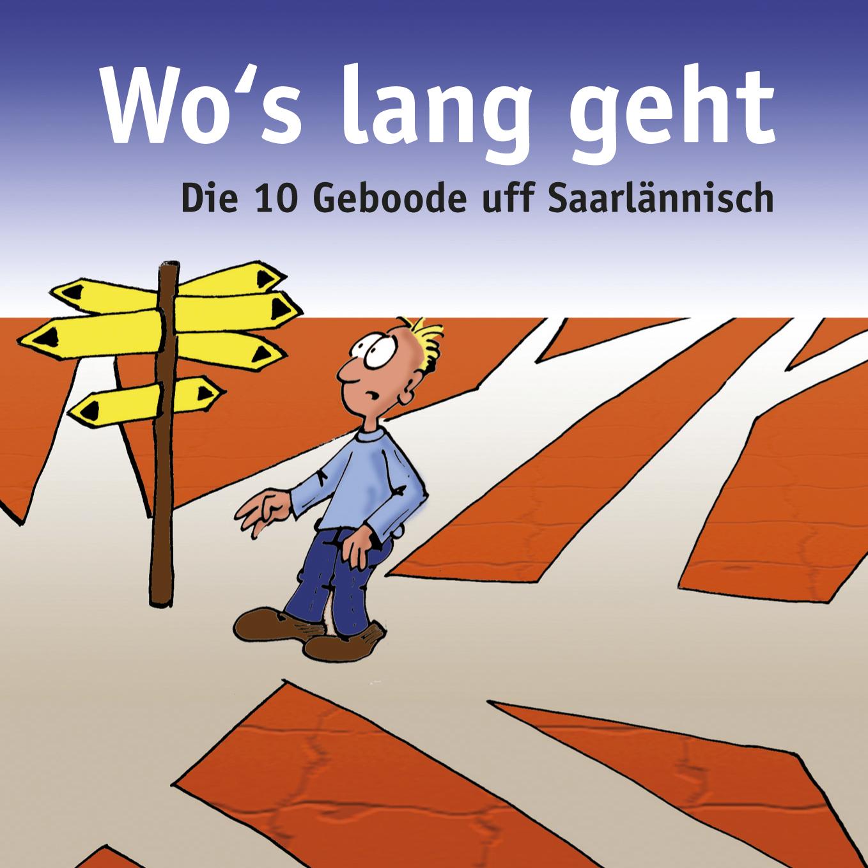 "Minibuch 10 Gebote ""Wo´s lang geht"""