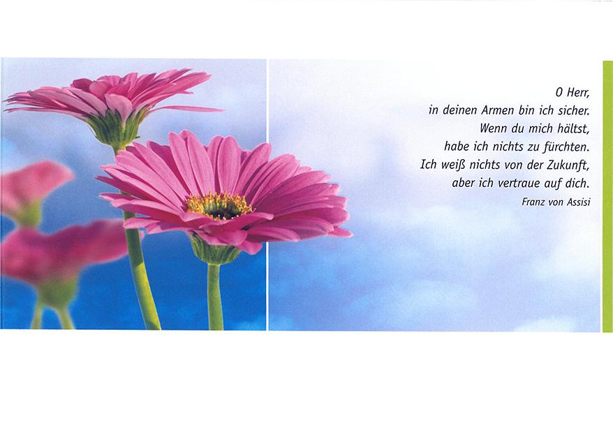 Postkarte Augenblicke der Besinnung – Glückwunsch Fensterbrett