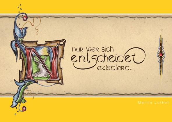Postkarten Lutherzitate