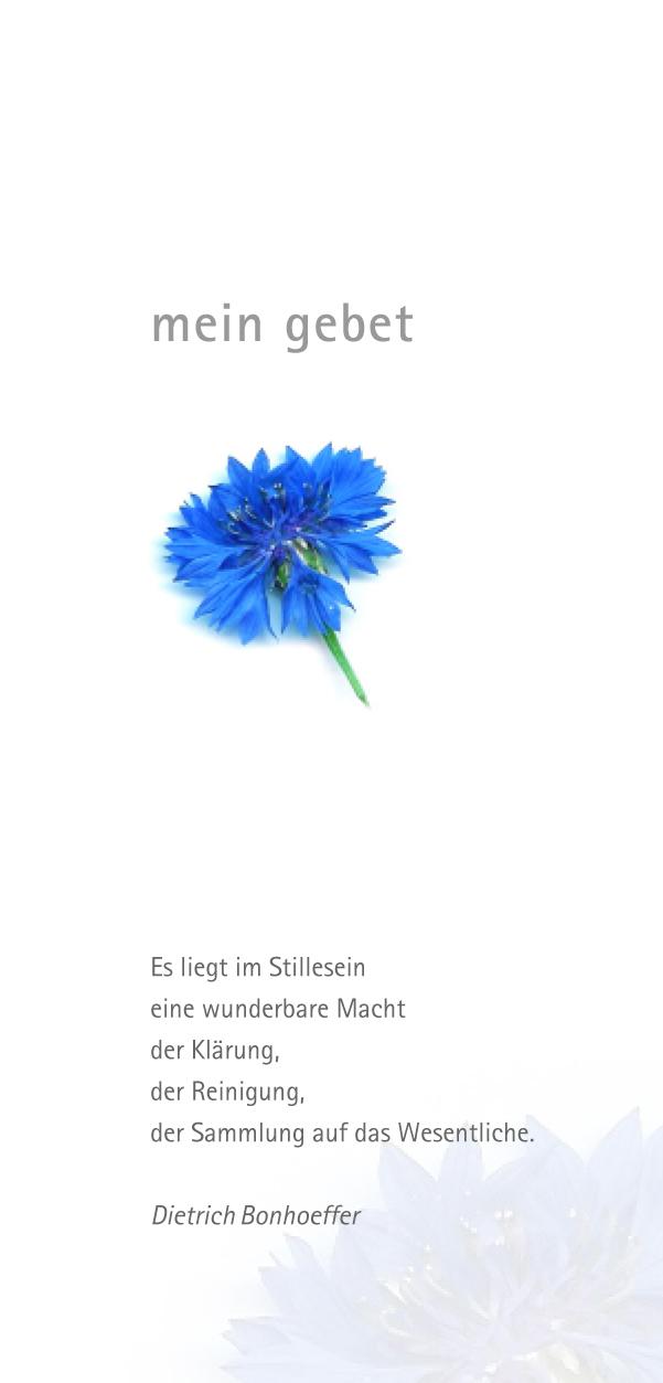 "Faltblatt ""mein Gebet"""