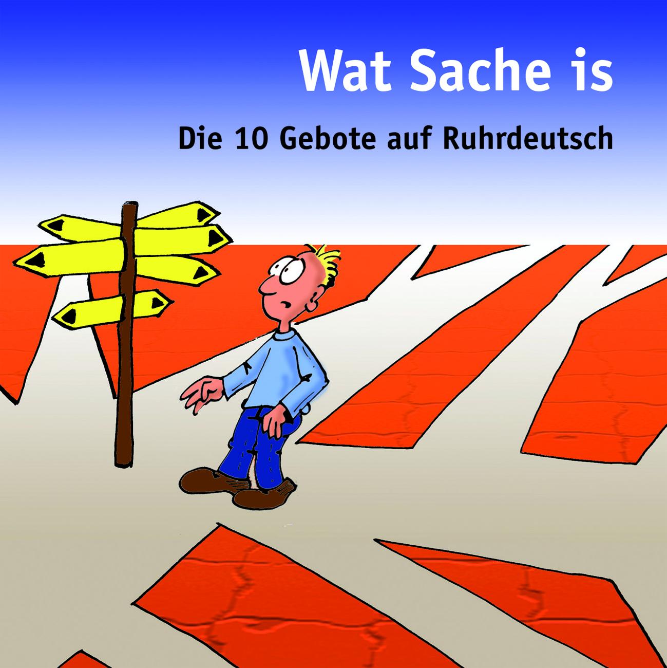 """Minibuch 10 Gebote """"Wat Sache is"""""""