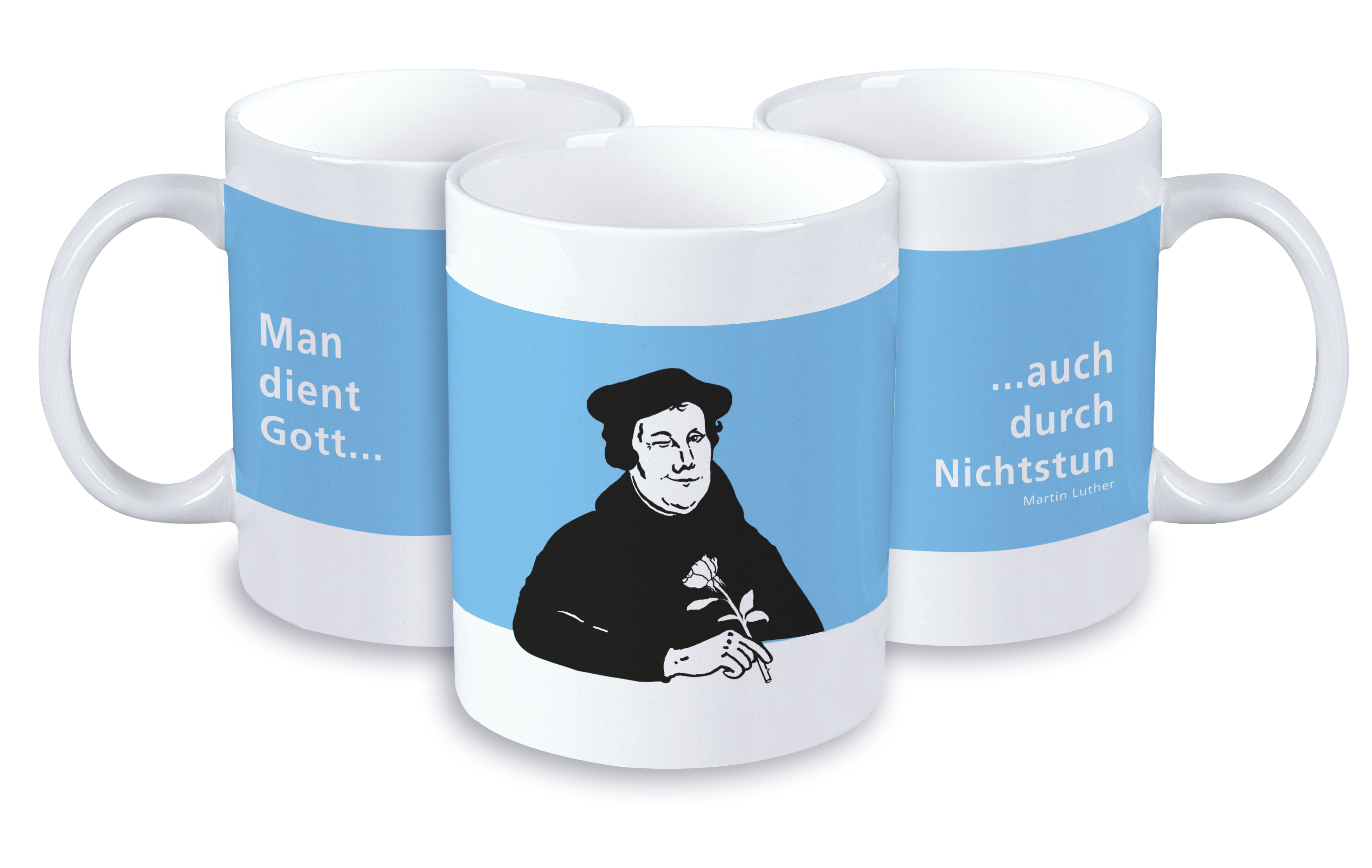 Luther Tasse Muße 4er Pack