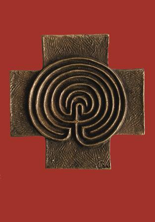"""Karte """"Labyrinth-Kreuz"""""""