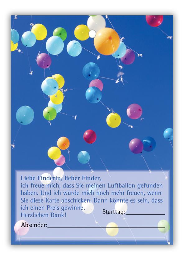 Ballonpostkarten