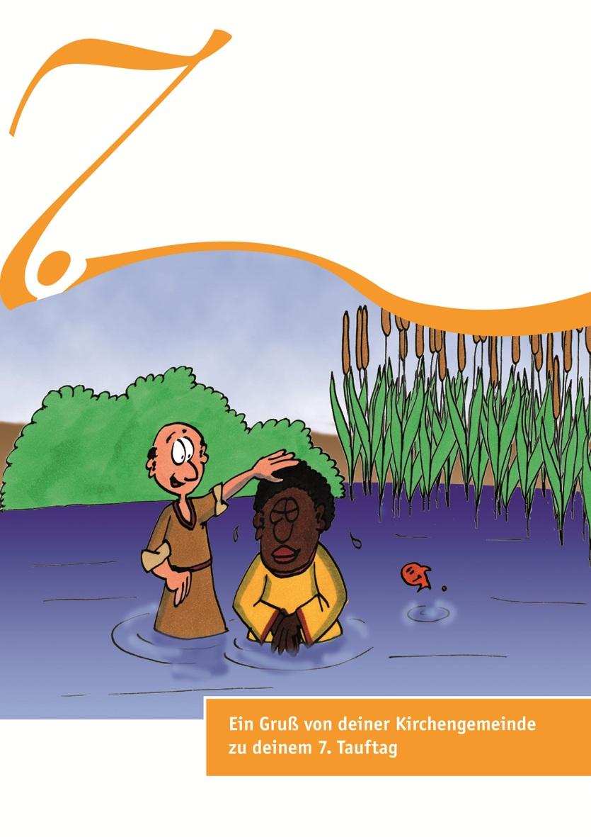 Karten zum Tauftag – 7. Tauftag